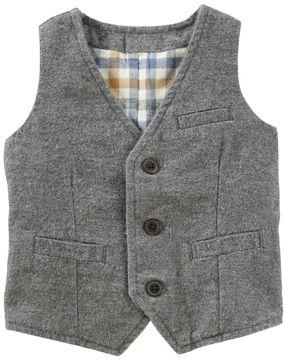 Osh Kosh Toddler Boy Flannel-Lined Vest