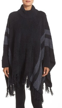 Barefoot Dreams Women's 'Cozy Chic Beach' Fringe Lounge Poncho