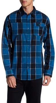 Burnside Plaid Button Down Shirt