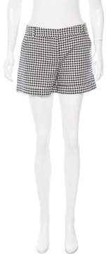 Boy By Band Of Outsiders Gingham Linen-Blend Shorts