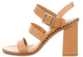 Marc by Marc Jacobs Leather Multistrap Sandals