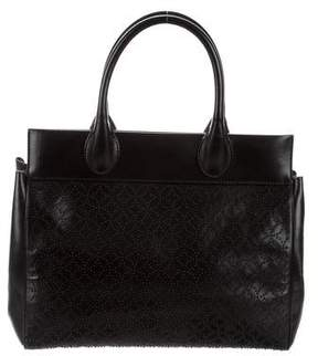 Alaia Beaded Leather Tote