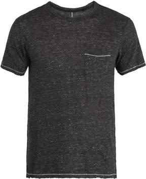 Rag & Bone Owen patch-pocket linen T-shirt