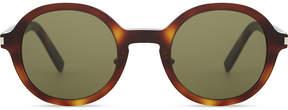 Saint Laurent Sl161 round-frame sunglasses