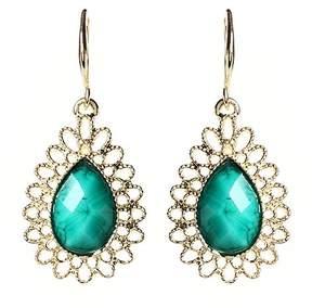 Amrita Singh Blue & Goldtone Surf Lodge Drop Earrings