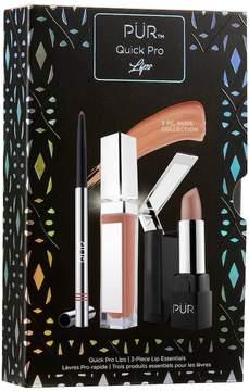 Pur Quick Pro Lips 3-pc. Lip Essentials Set - Nude