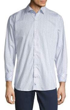 Tailorbyrd Alfredo Cotton Button-Down Shirt