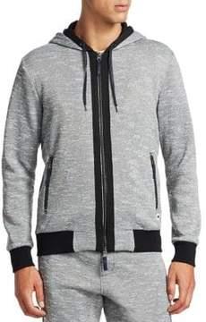 Madison Supply Zip-Up Hooded Jacket
