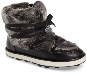 Stuart Weitzman Ariana Faux Fur Lined Snow Boot (Toddler, Little Kid & Big Kid)