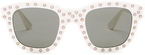 Saint Laurent Women's Surf Studded Sunglasses