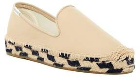 Soludos Leather Platform Espadrille