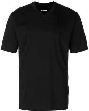 Jil Sander V-neck T-shirt