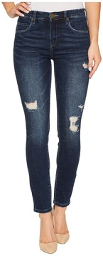 Blank NYC High-Rise Destructed Skinny in Modern Vice Women's Jeans