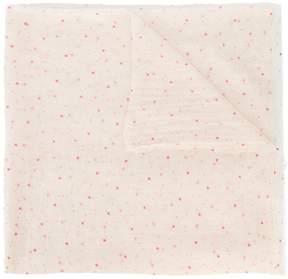 Faliero Sarti mini heart print scarf