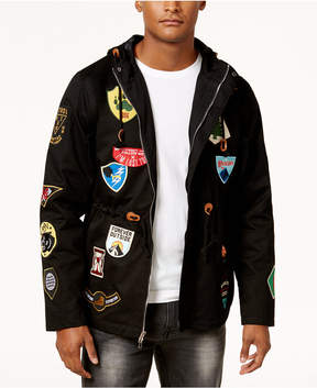 Reason Men's Four Corners Hooded Patch Jacket