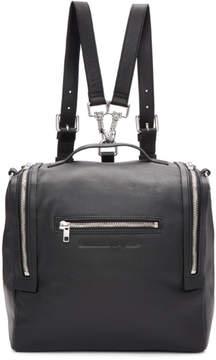 McQ Black Convertible Backpack