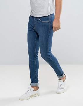 Dr. Denim Leroy Super Skinny Jeans Organic Mid Blue