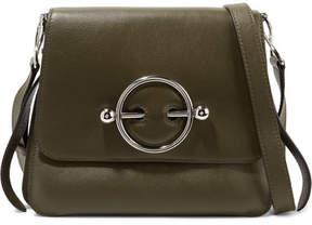 J.W.Anderson Disc Leather Shoulder Bag - Green