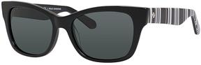 Safilo USA Kate Spade Alora Polarized Rectangle Sunglasses