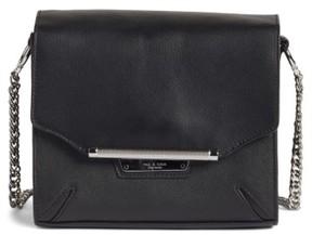 Rag & Bone Moto Leather Crossbody Bag - Black