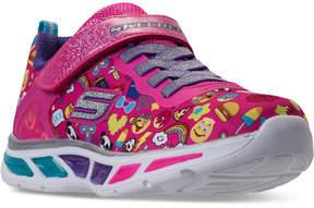 Skechers Little Girls' S Lights: Litebeams - Feelin It Light-Up Athletic Sneakers from Finish Line