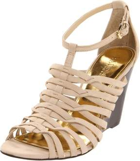Lauren Ralph Lauren Women's Damalise Wedge Sandal Light Clove