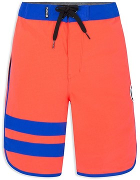 Hurley Boys' Print Reveal Block Party Board Shorts - Little Kid