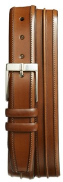 Mezlan Men's Big & Tall 'Parma' Leather Belt
