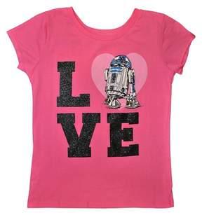 Star Wars Girls' T-shirt - Bubble Gum Pink