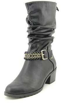 Thalia Sodi Jannice Women Round Toe Synthetic Mid Calf Boot.