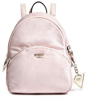 GUESS Bradyn Velvet Small Backpack