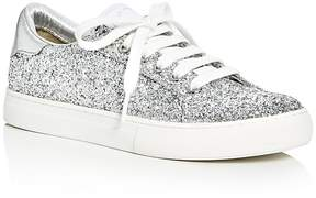 Marc Jacobs Empire Glitter Lace Up Sneakers