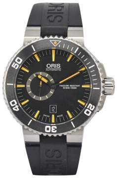 Oris Aquis 7673 Stainless Steel Automatic 45.5mm Mens Watch