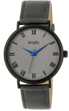 Simplify The 2900 Collection SIM2906 Unisex Watch with Leather Strap