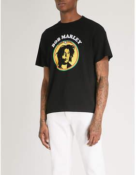 Sandro Bob Marley logo cotton T-shirt