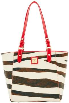 Dooney & Bourke Serengeti Janie Tote - ZEBRA RED - STYLE