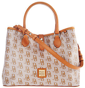Dooney & Bourke As Is Sutton Perry Satchel - ONE COLOR - STYLE