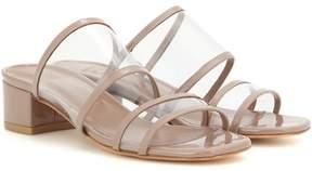 Maryam Nassir Zadeh Martina patent leather sandals