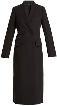 Joseph Best double-breasted creased-crepe coat