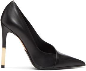 Balmain Black Agnes Heels