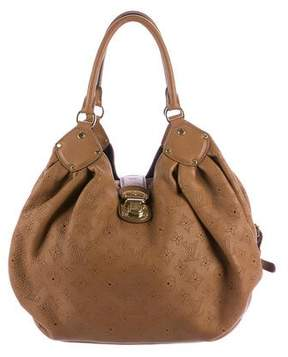 Louis Vuitton Mahina L Hobo - BROWN - STYLE