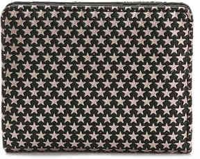 Women's Star Mini Bifold Wallet -Pink/Black