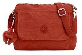 Kipling Top Zip Shoulder Bag - RED RUST - STYLE