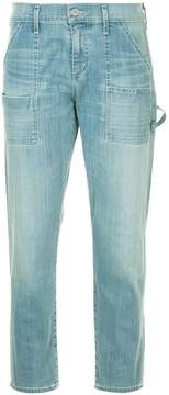 Citizens of Humanity cropped straight-leg jeans