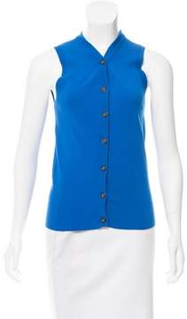 Creatures of Comfort Sleeveless Button-Up Top