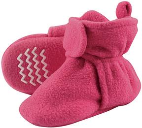 Hudson Baby Magenta Fleece Nonskid Bootie - Girls