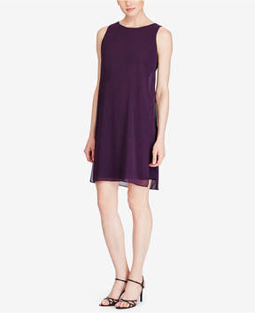 American Living Georgette Overlay Jersey Dress