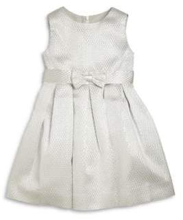 Rachel Riley Little Girl's & Girl's Satin Jacquard Party Dress