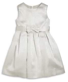 Rachel Riley Little Girl's & Girl's Satin Jacquard Party Dress