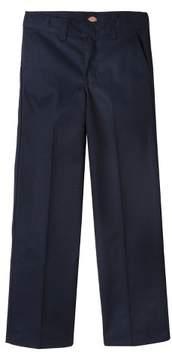 Dickies Boys' Flexwaist Flat Front Pants